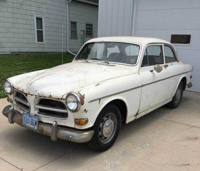 Ideal Work from Home Project: 1968 Volvo 122S (Amazon) for 00