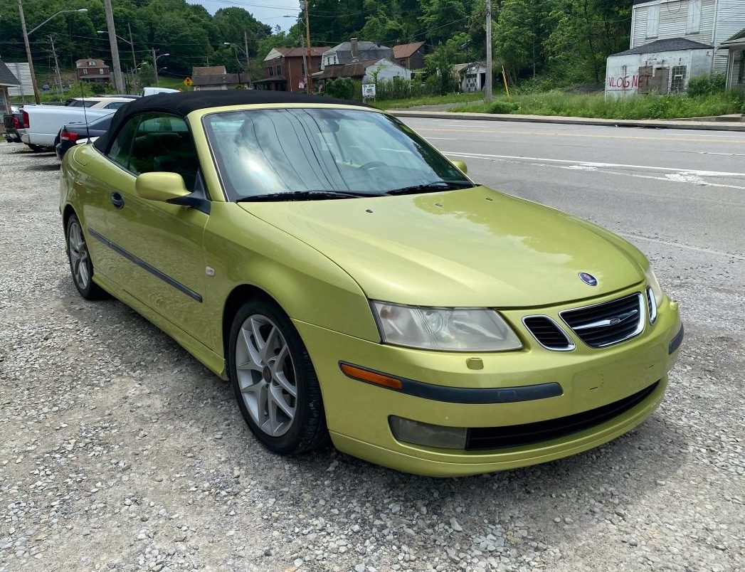 Throw Reason Out the Door – 2005 Saab 9-3 convertible for 95 Near Pittsburg